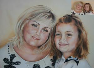 Портрет колаж