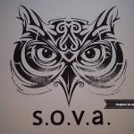 Сова. Емблема закладу. Логотип організації.